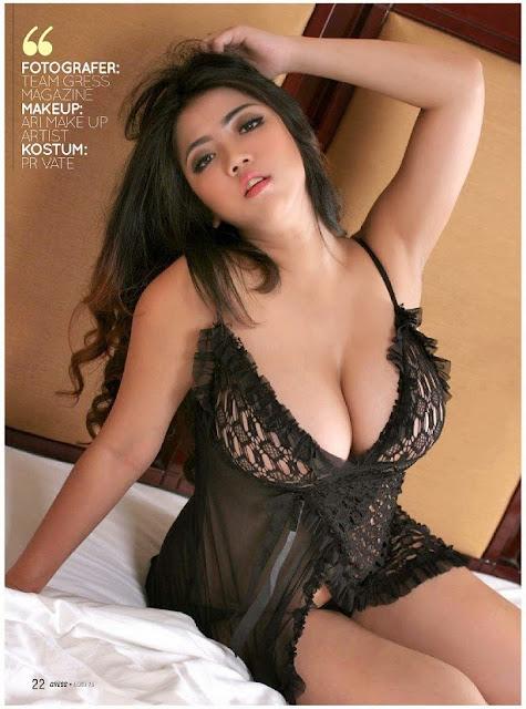 Foto Model, Foto Hot, Foto Sexy, Model Indo,Hot Foto Model Hot Rully Angellina Dalam Gress Magazine