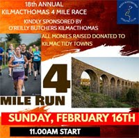Kilmacthomas 4 miler in Waterford - Sun 16th Feb 2020