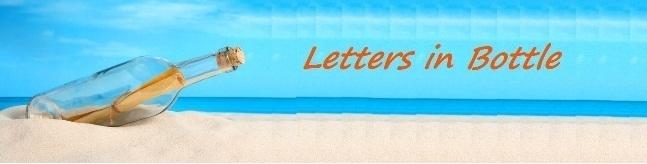 letters in bottle