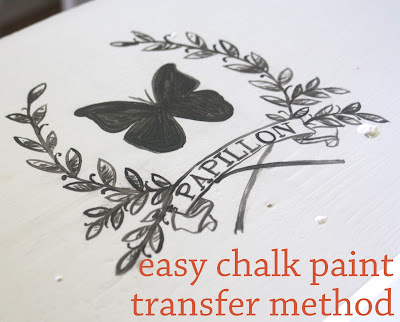transfers for chalk paint