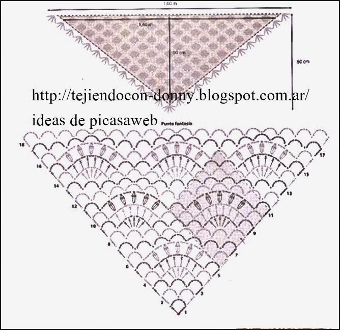 PATRONES - CROCHET - GANCHILLO - GRAFICOS: DESCARGA DE PATRONES A ...