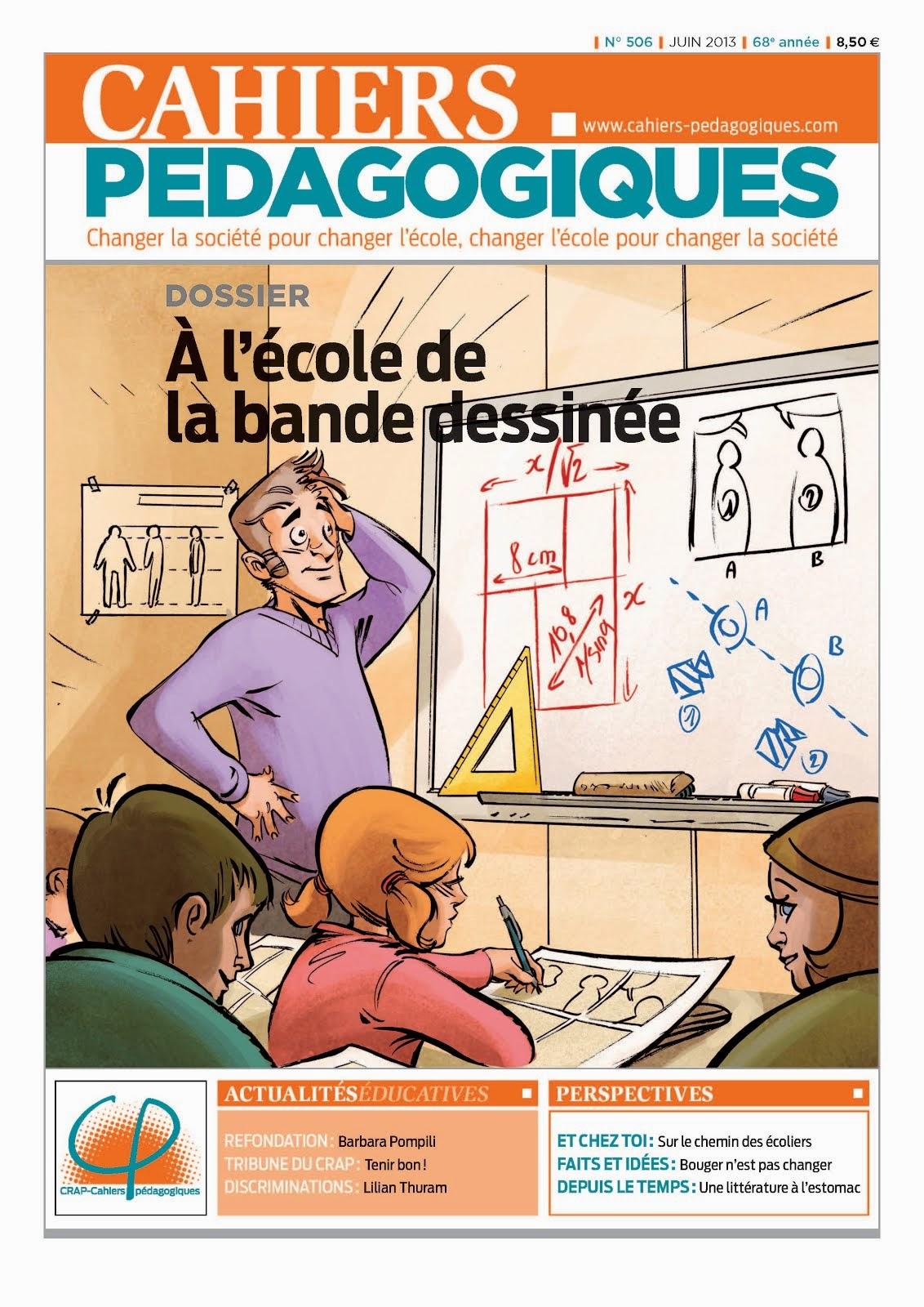 Cahiers Pédagogiques n° 506 : À l'école de la bande dessinée