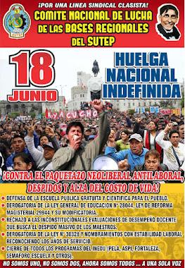 18 DE JUNIO HUELGA NACIONAL