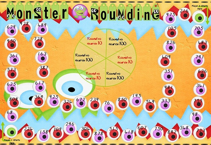 Gratifying image pertaining to rounding games printable