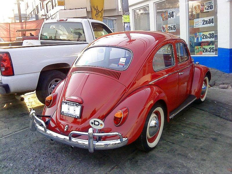 Automotive Database Volkswagen Beetle In Mexico