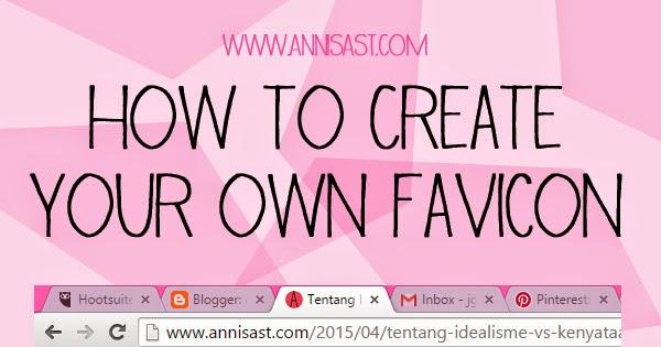 tutorial membuat favicon untuk blog
