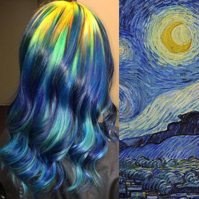 Obras de Arte Clássicas são usadas de inspiração para transformar o cabelo de diversas mulheres