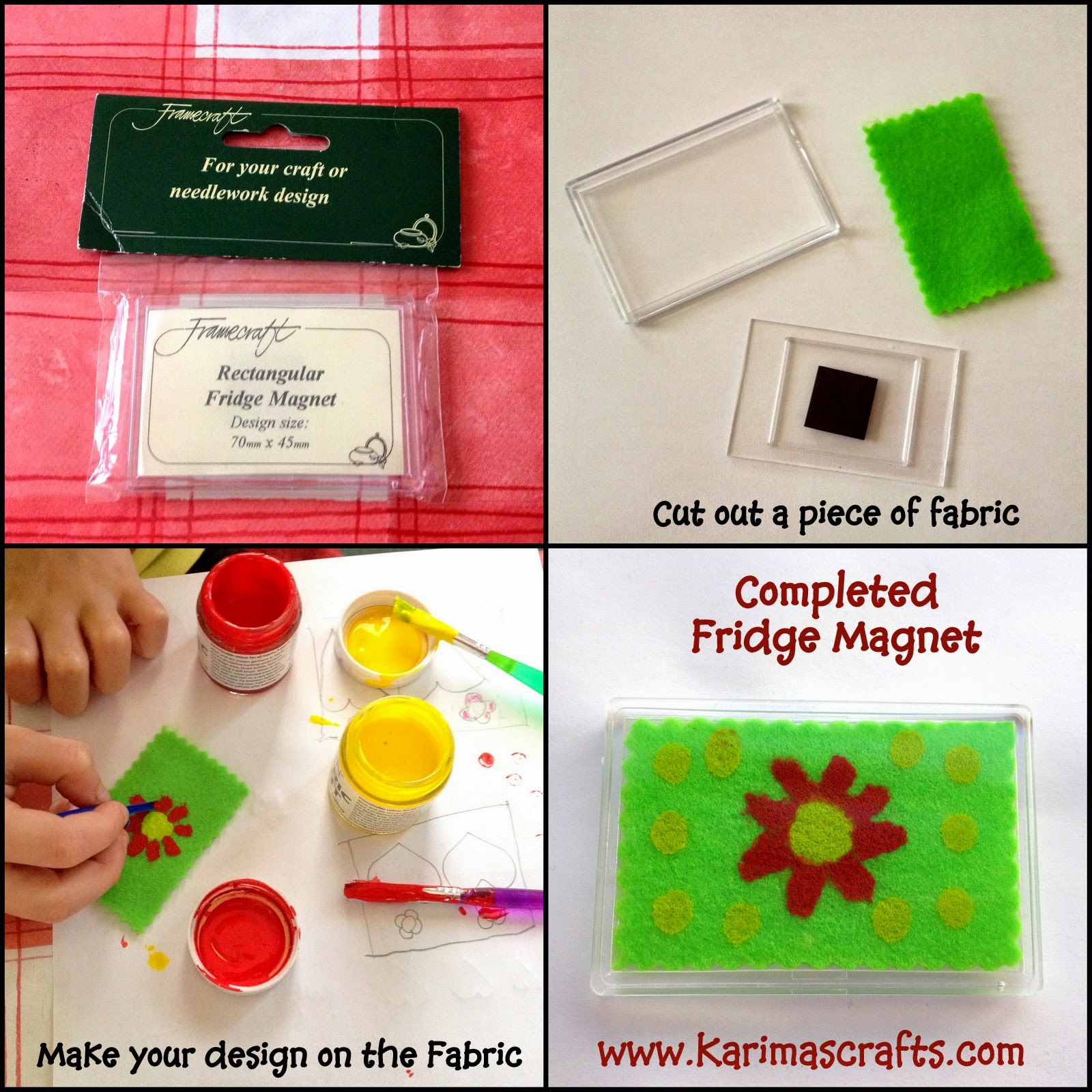 fridge magnet design tutorial