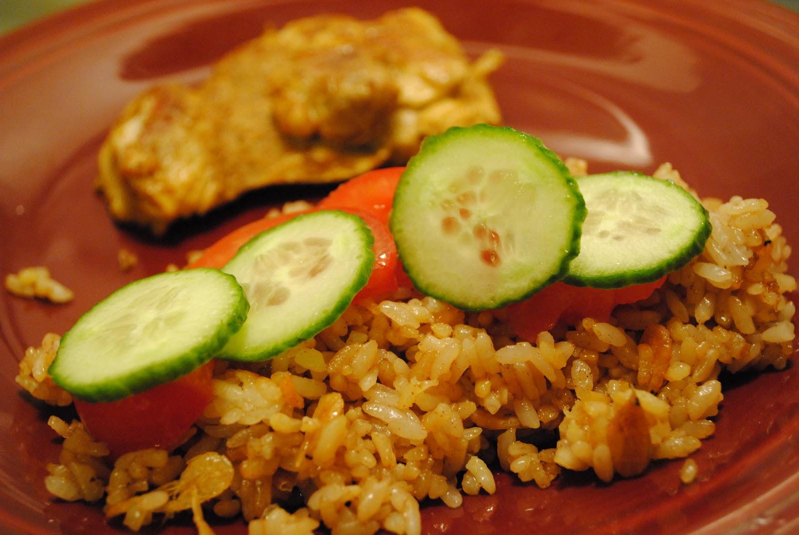 how to make nasi goreng rice