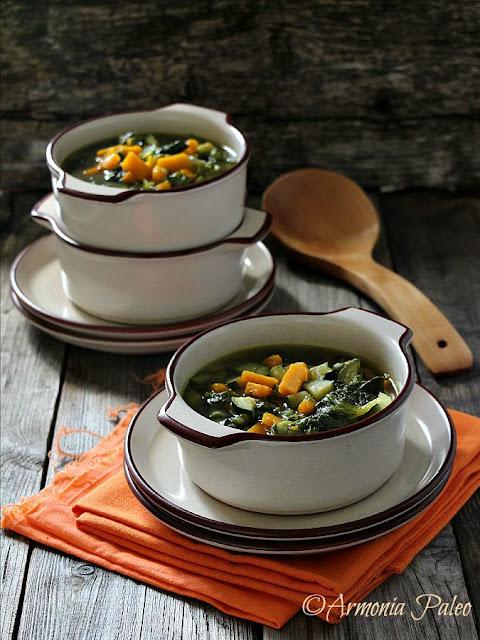 Zuppa di Lattuga di Armonia Paleo