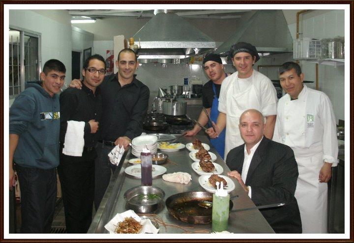 Entrenamiento de personal de cocina