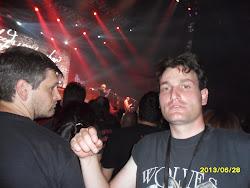 Víctor Uríz Carreira (alumno). Concierto de Def Leppard, Whitesnake y Europe (Santiago, 28/06/13)