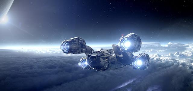 Prometheus - il Prometheus in volo