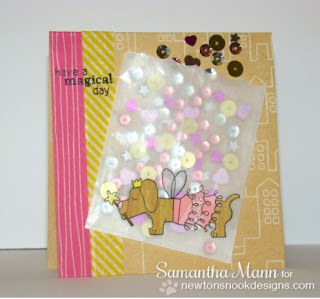 Halloween dog card by Samantha Mann using Boo Crew