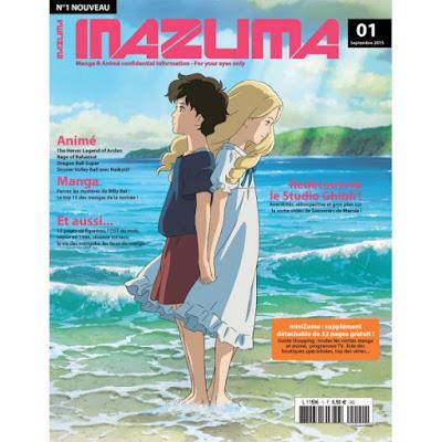 INAZUMA, le nouveau magazine Animé / Manga