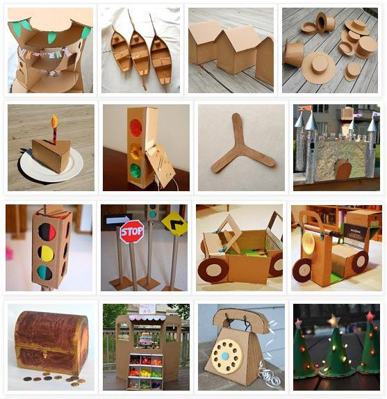 Patent pending projects 52 cardboard craft projects