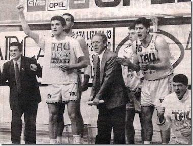 Año 92.Herb Brown / Paco García. Taugres Baskonia