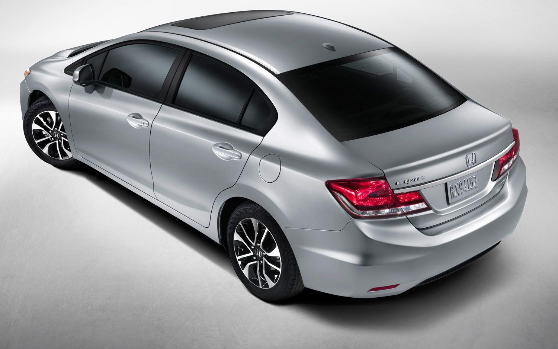 2013 Honda Civic EX L Navi Sedan Rear