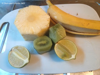 Crussh Kiwi banana smoothie ingredients