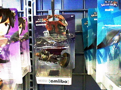 Defective Ganondorf amiibo in box sealed