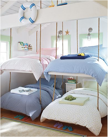 Stylish Bunk Beds For Young Girls Room Design Ideas