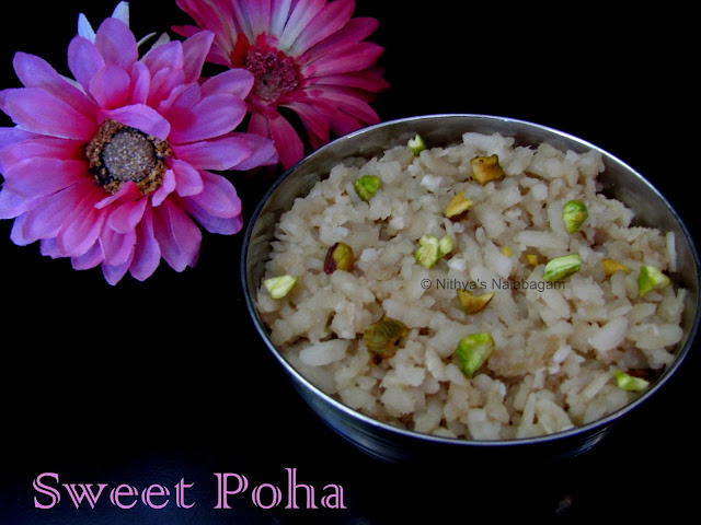 Sweet Poha