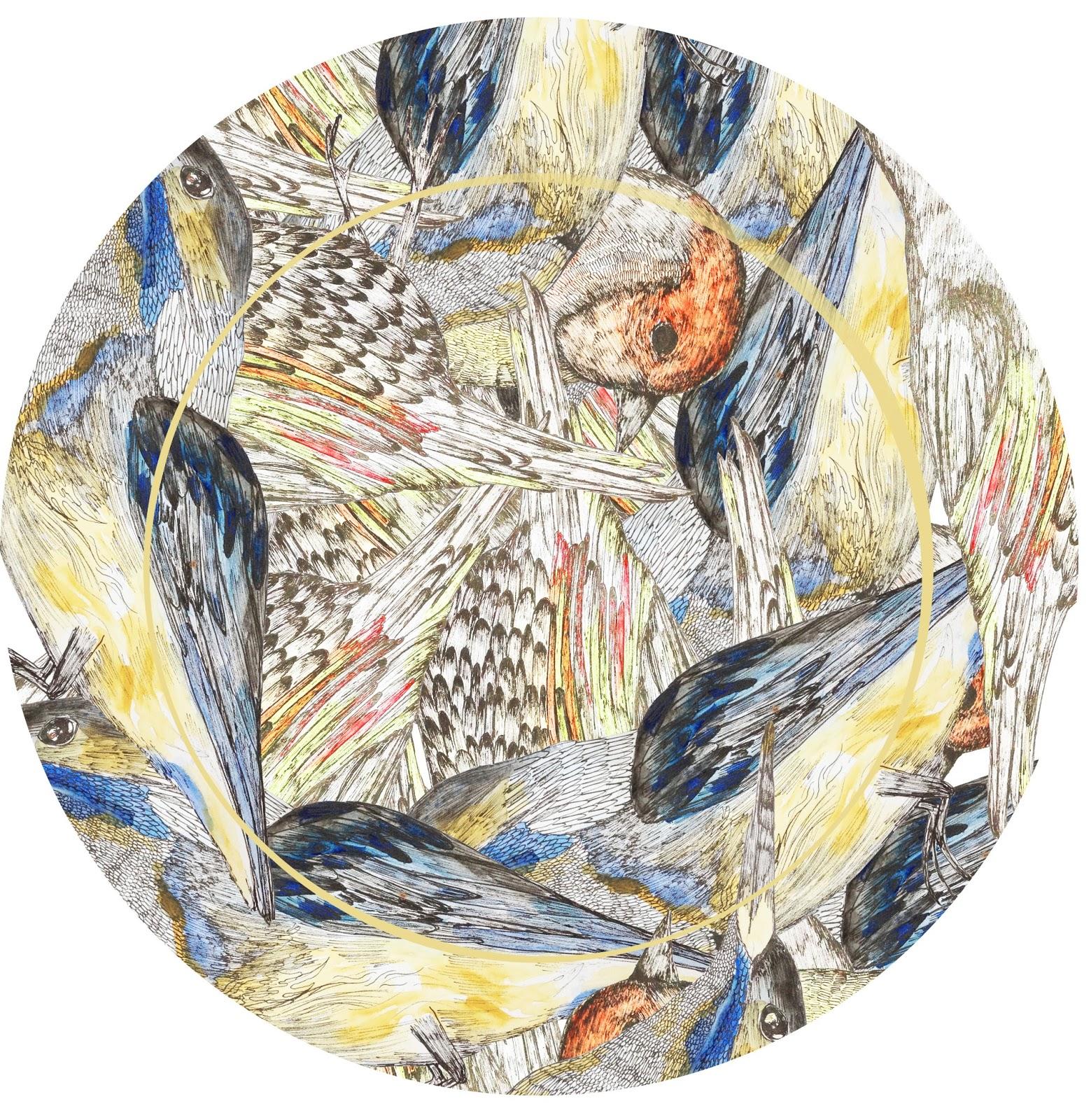 Birds plate design
