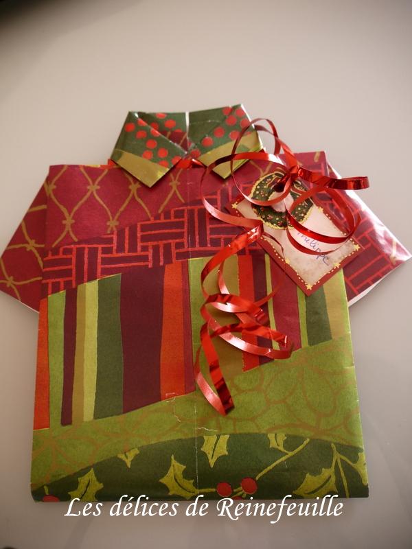 Les d lices de reinefeuille d cembre 2012 - Emballage cadeau original pour noel ...