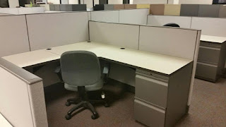 Used Haworth Places, 6'x6' office cubicles