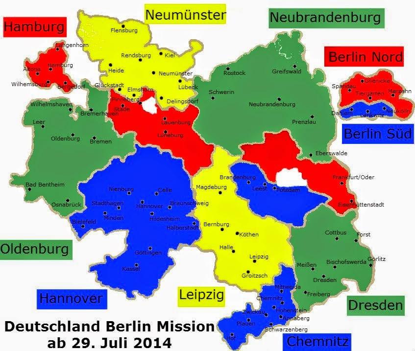 Deutschland Berlin Mission 2014