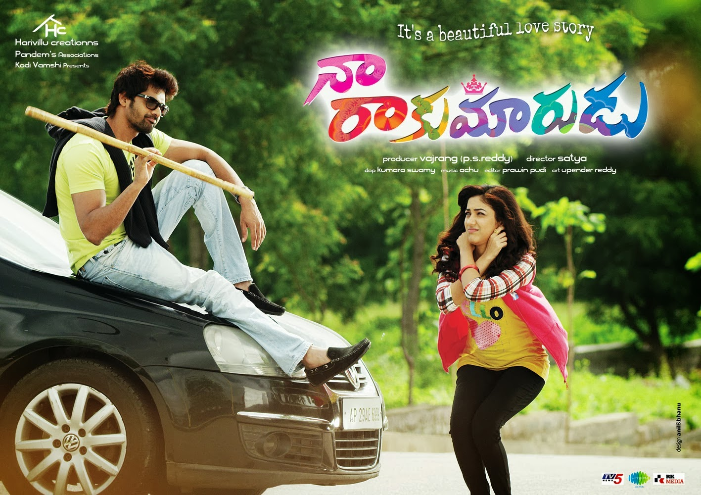 Naa Rakumarudu Movie Latest Posters