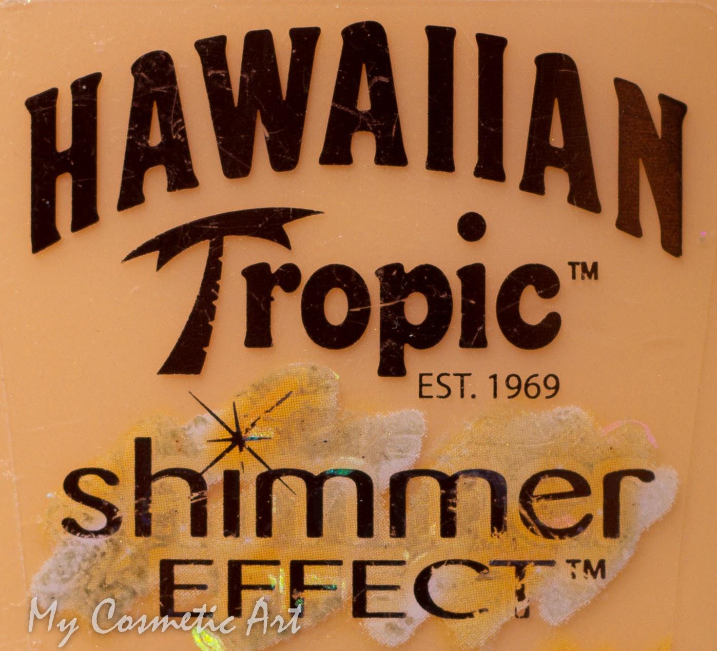 Hawaiian Tropic Shimmer Effect ¡Me vuelvo loca con los destellos!