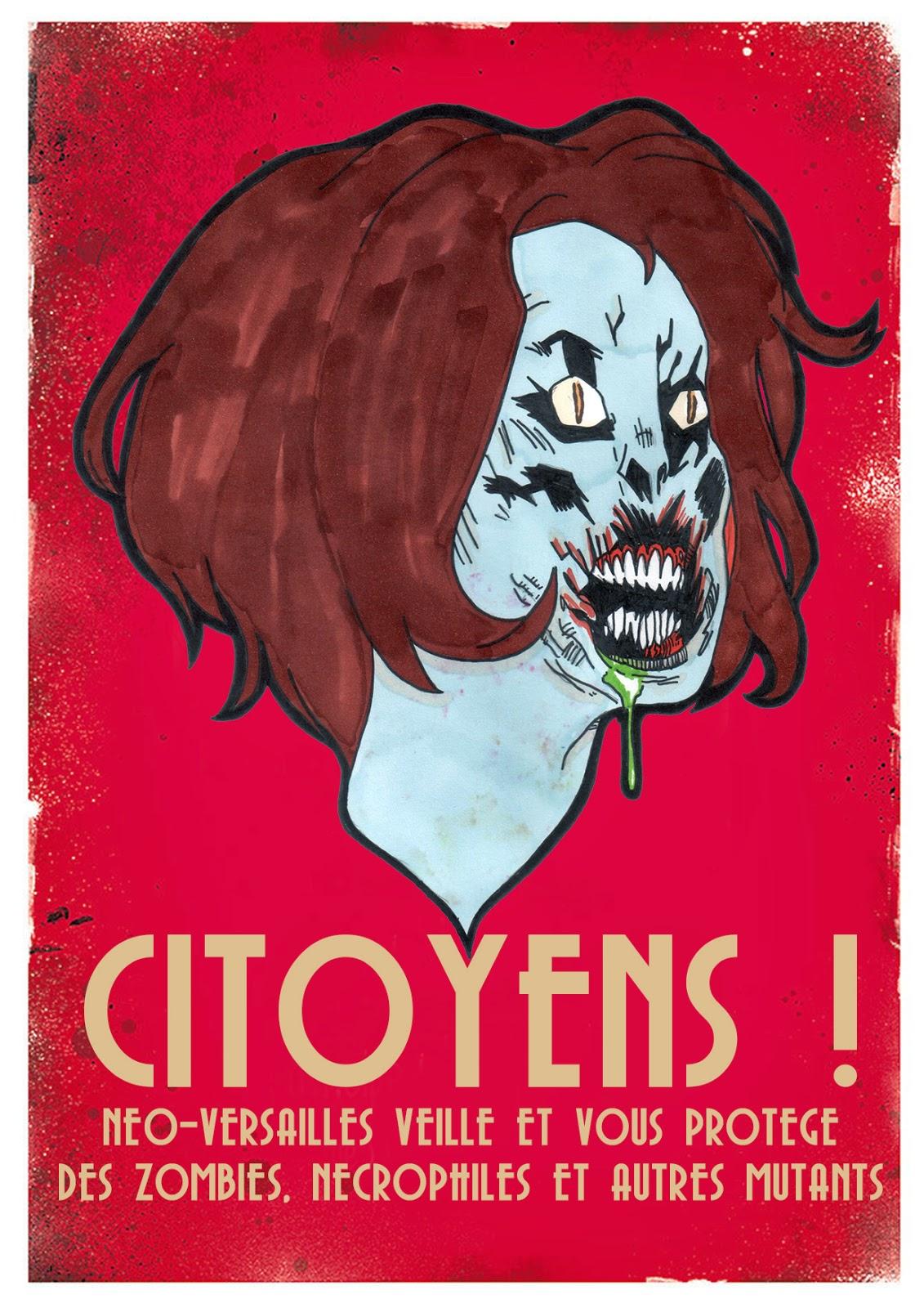 Affiches de propagandes de Neo-Versailles par The Terror Geek Neoversailles7
