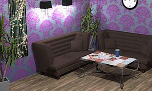 Lilac Waiting Room