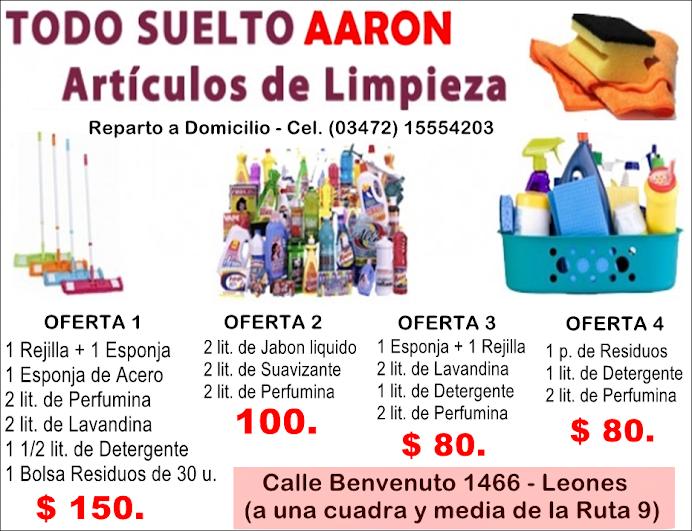 ESPACIO PUBLICITARIO: TODO SUELTO AARON