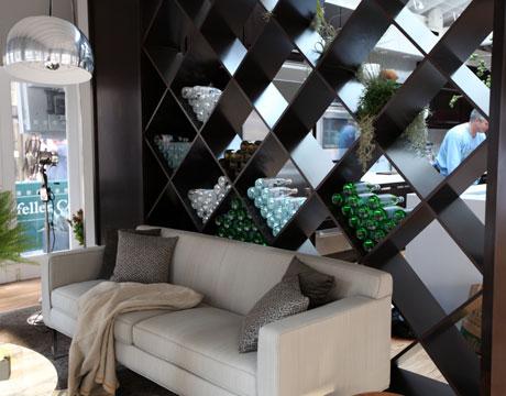 Decora la casa ideas para usar un separador de ambientes for Divisiones para sala y cocina