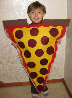 Fantasia Infantil de Pizza