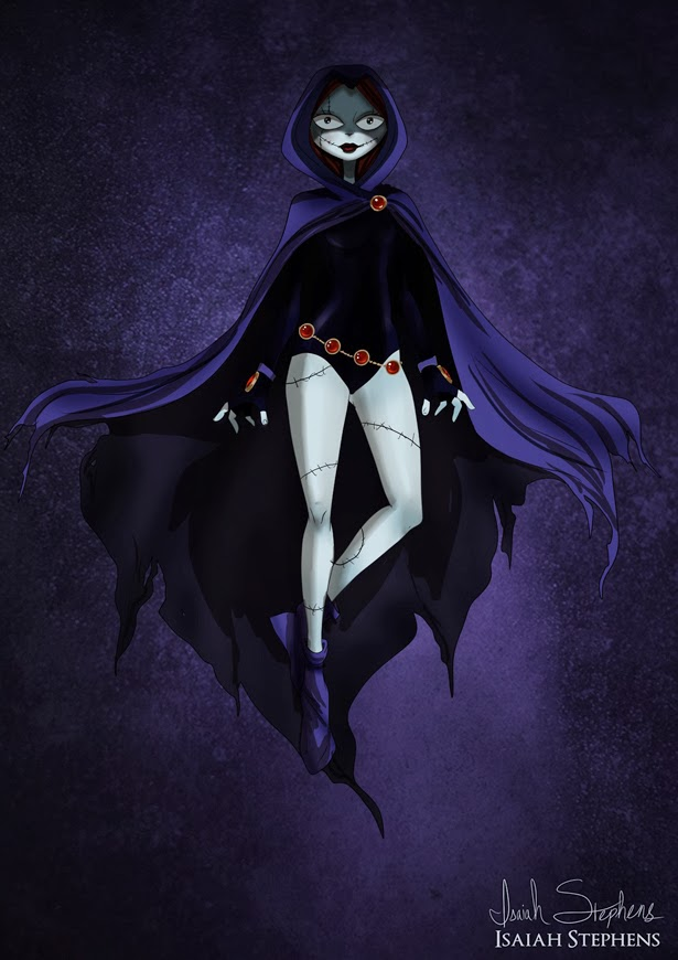 Sally Skellington como Raven