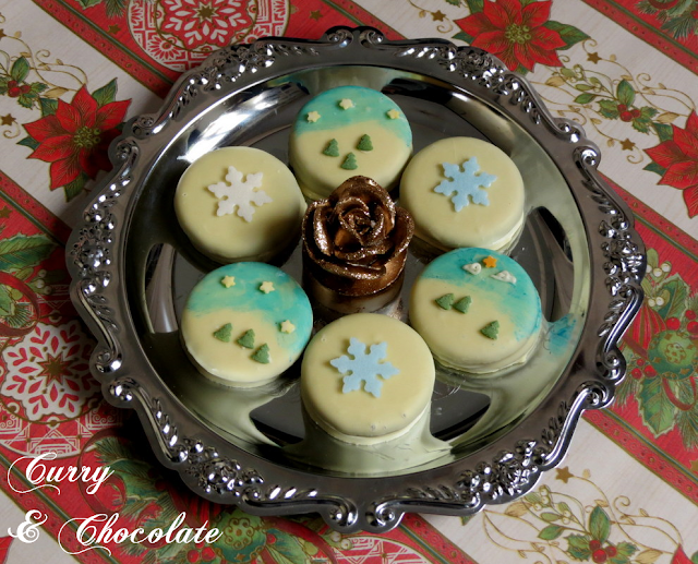 Galletas Oreo decoradas para Navidad - Christmas cookies idea