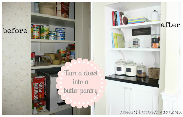 Superb Better With Age Turned A Mini Closet Into A Fab Butler Pantry. Great Job!