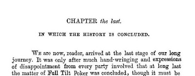 Full Tilt Poker, Chapter the Last