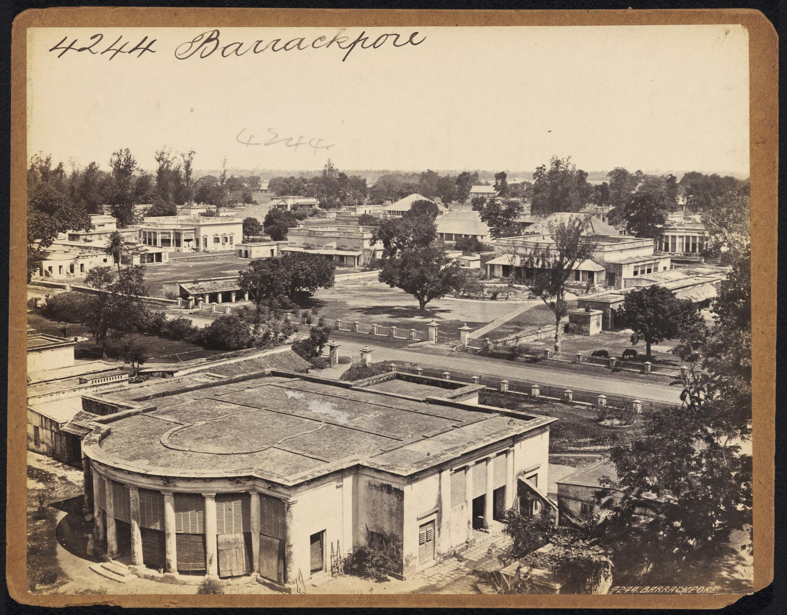 Various Views Of Barrackpore Near Calcutta Kolkata Mid