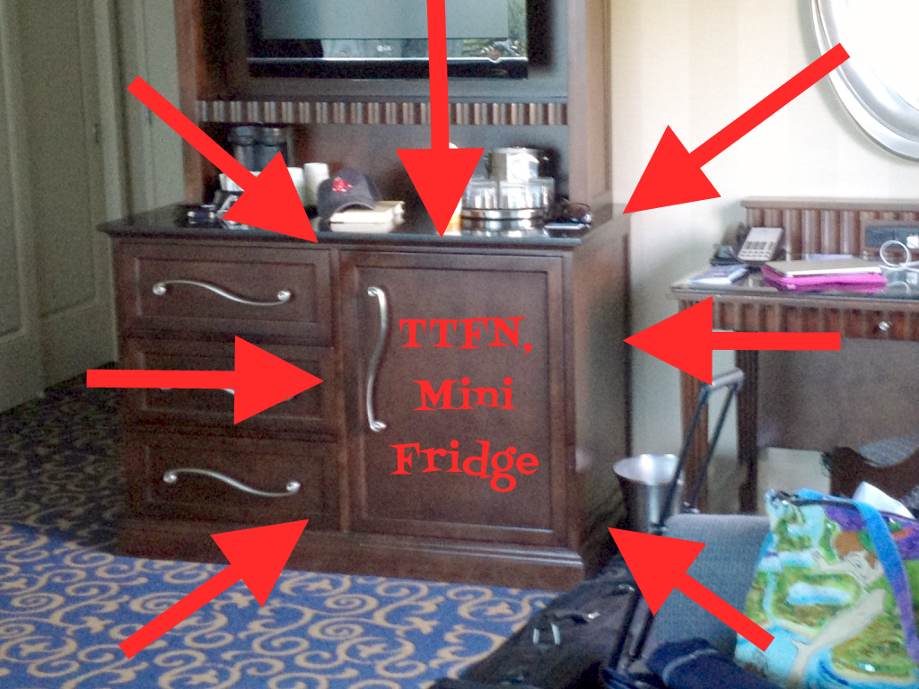 Mini Fridges Being Removed from Disney Resort Hotels; What This ...