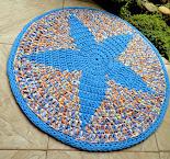 Tapete Estrela Azul (Tapestry)