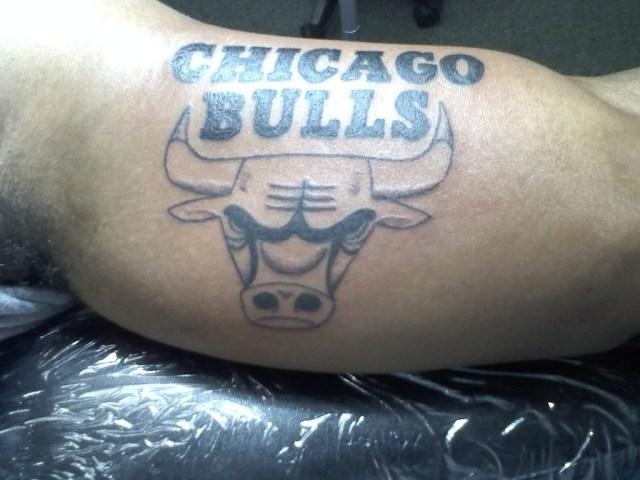 Tattoo Designs: Chicago Bulls Tattoos Idea