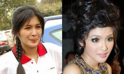 Kumpulan Foto Artis Indonesia Tanpa Make Up