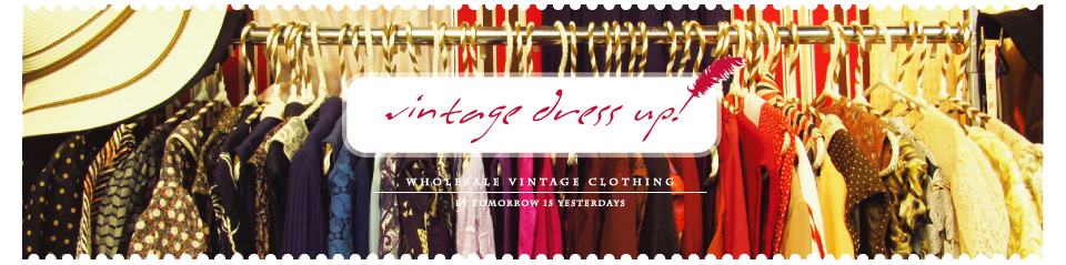 Vintage dress up | Wholesale Vintage Clothing Distributor Thailand Bangkok