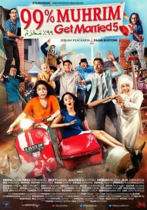 Jadwal Film 99% MUHRIM GET MARRIED 5