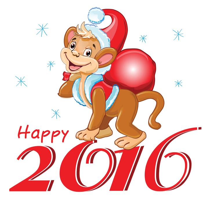Поздравления с новым годом обезьяны на корпоратив