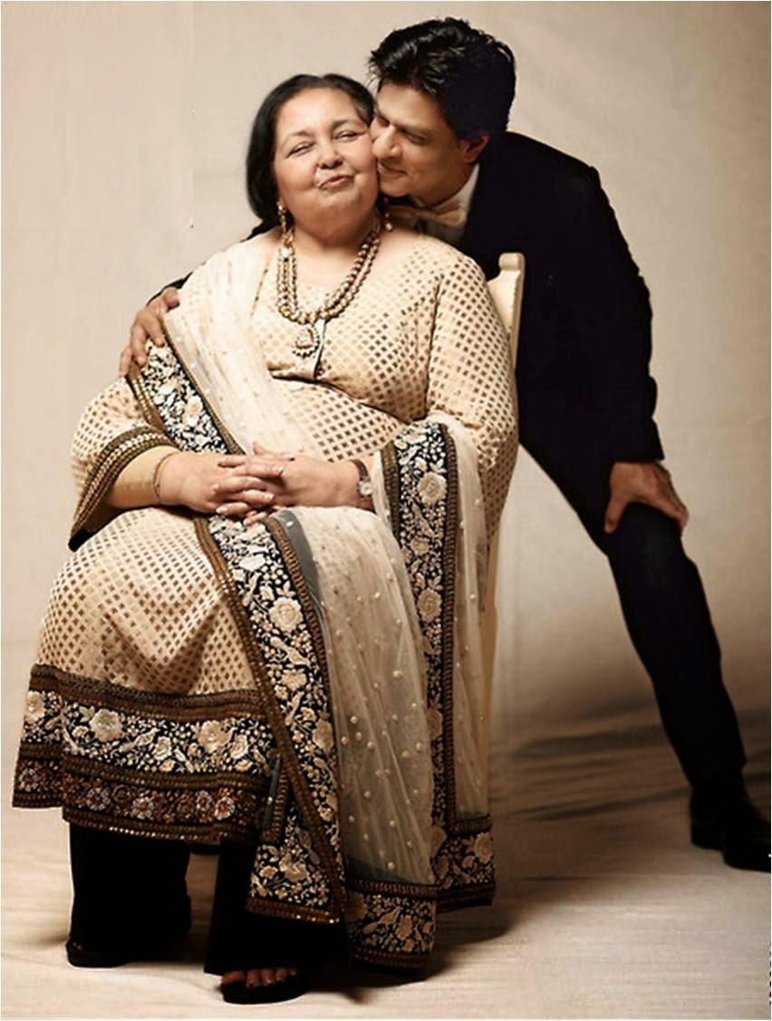 Pamela Chopra & Shahrukh Khan